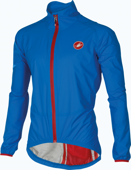 Castelli Riparo rain jacket blue men 16050-059  CA16050-059