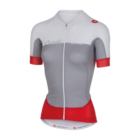 Castelli Aero race W jersey grey/white women 16053-008  CA16053-008