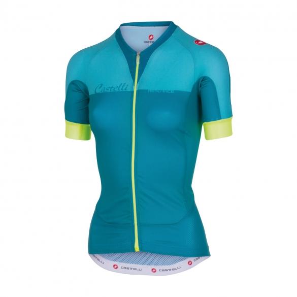 Castelli Aero race W jersey pastel blue women 16053-069  CA16053-069