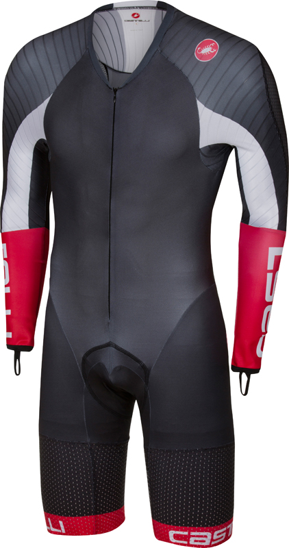 Castelli Body paint 3.3 speedsuit long sleeve black/white men  17000-101