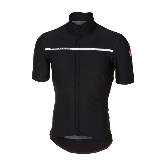 Castelli Gabba 3 short sleeve jacket light black men  17084-085