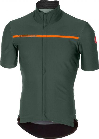 Castelli Gabba 3 short sleeve jersey forest gray men online  Order ... 7d4e8cc09