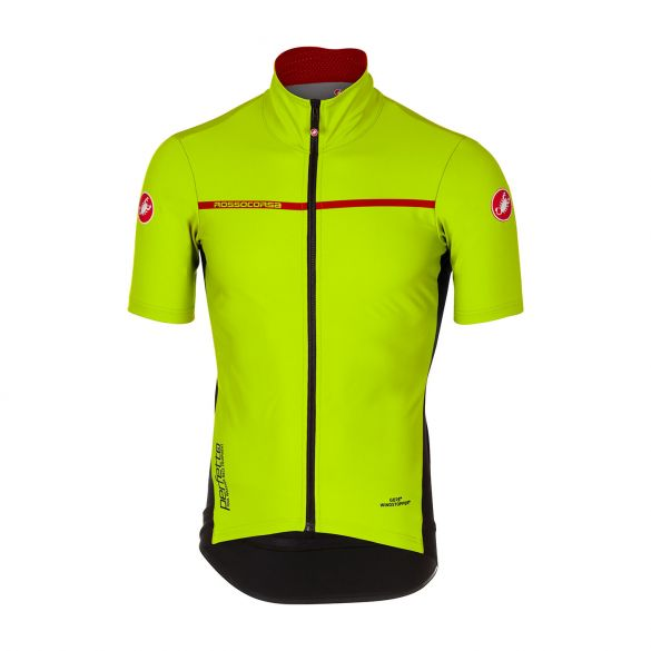 Castelli Perfetto light 2 short sleeve jersey yellow men online ... 86ecbd7ef