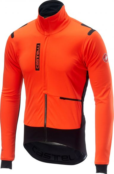 Castelli Alpha RoS jacket orange/black men  17502-341