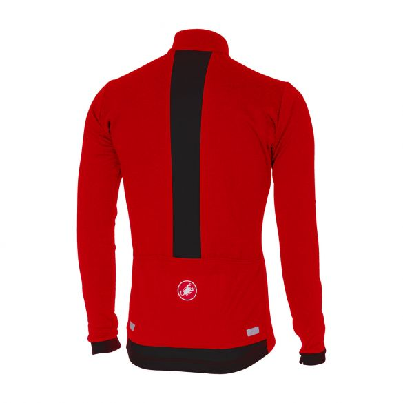 Castelli Fondo long sleeve jersey red men online  Order Find it at ... 18c5cd947