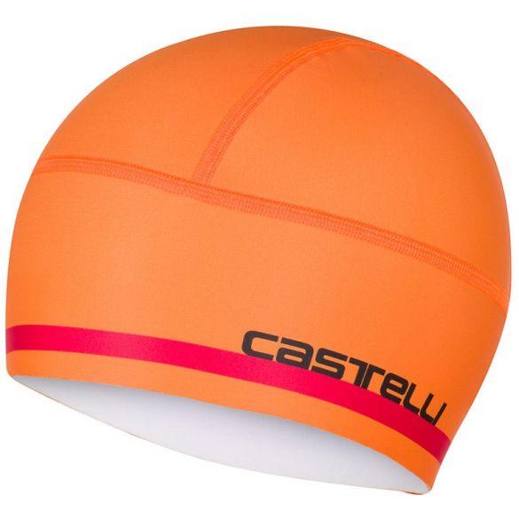 Castelli Arrivo 2 thermo skully under helmet orange men  17530-034