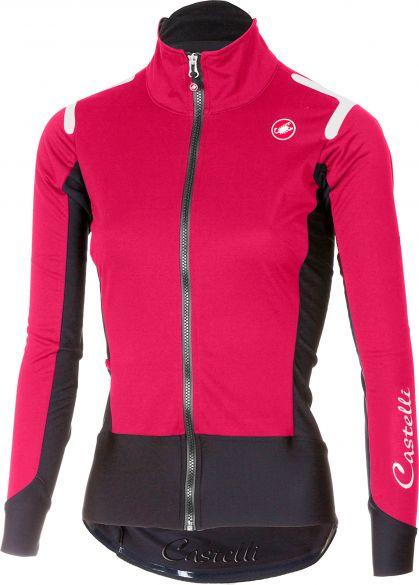 299d41087 Castelli Alpha ros W long sleeve jersey pink black women online ...