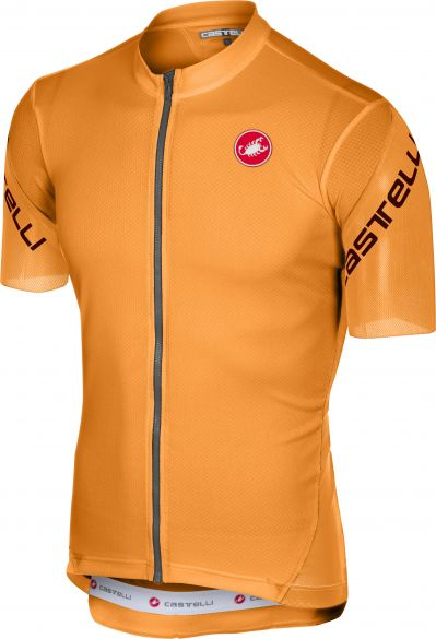 Castelli Entrata 3 jersey short sleeve orange men online  Order Find ... 9e6c1b095
