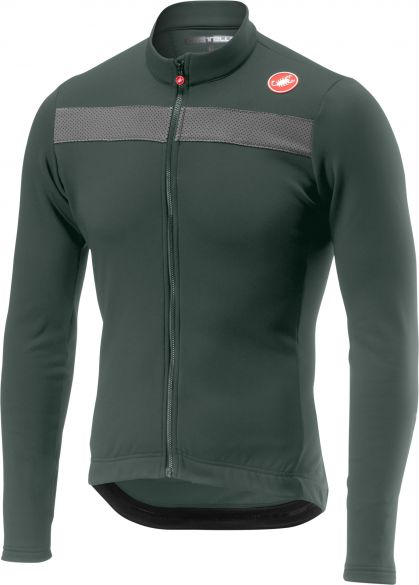 Castelli Puro 3 jersey forest gray men online  Order Find it at ... 2a5a0bbd0
