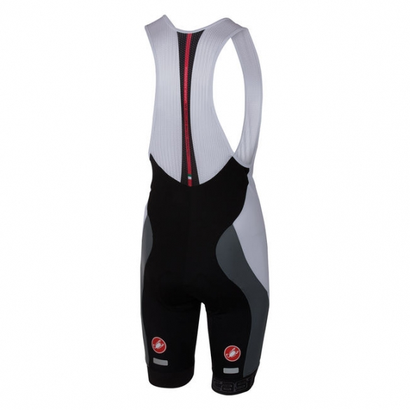 Castelli Velocissimo bibshort black/white men 16003-101  CA16003-101