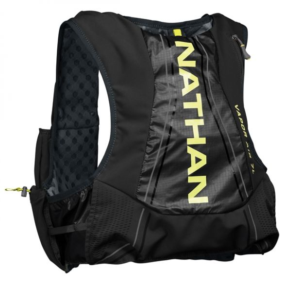 Nathan VaporAir2 backpack 7L black/yellow men  00970018