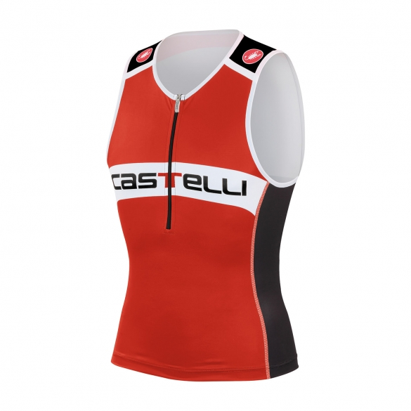 Castelli Core tri top red/black men 14108-023  CA14108-023