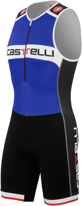 Castelli Core tri suit blue/white men  14110-057-VRR