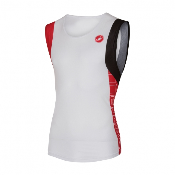 Castelli T.O. alii run top men white/red 16067-123  CA16067-123