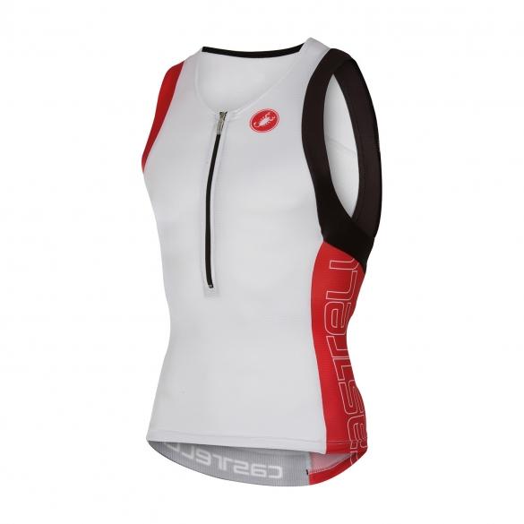Castelli Free tri top men white/red 16069-123  cA16069-123