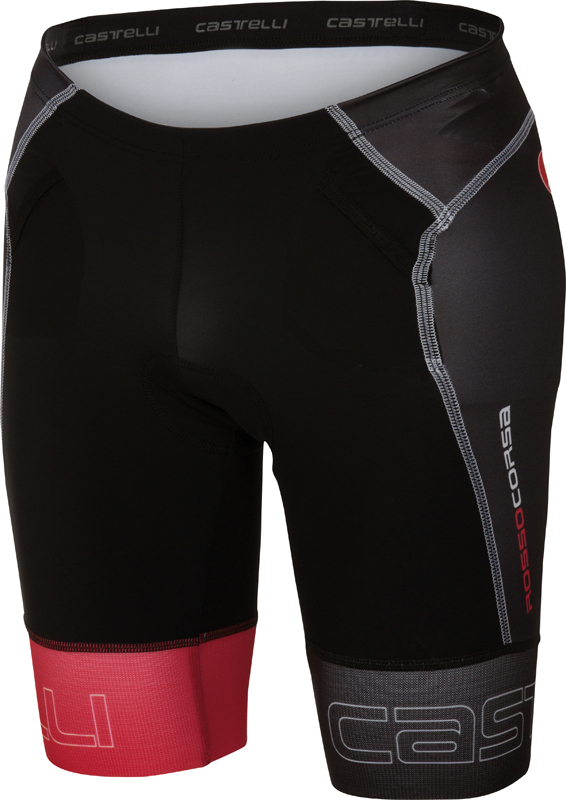 Castelli Free tri Short black/red men 16070-231  16070-231
