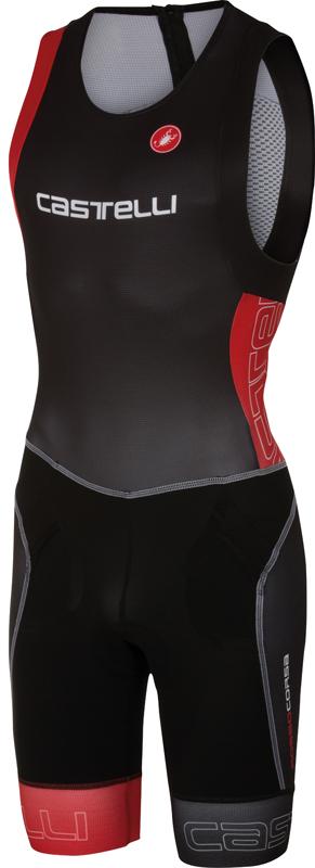 Castelli Free tri itu suit sleeveless men black/red 16072-231  16072-231