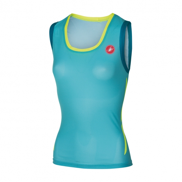 Castelli Alii run top blue women 16074-066  CA16074-066