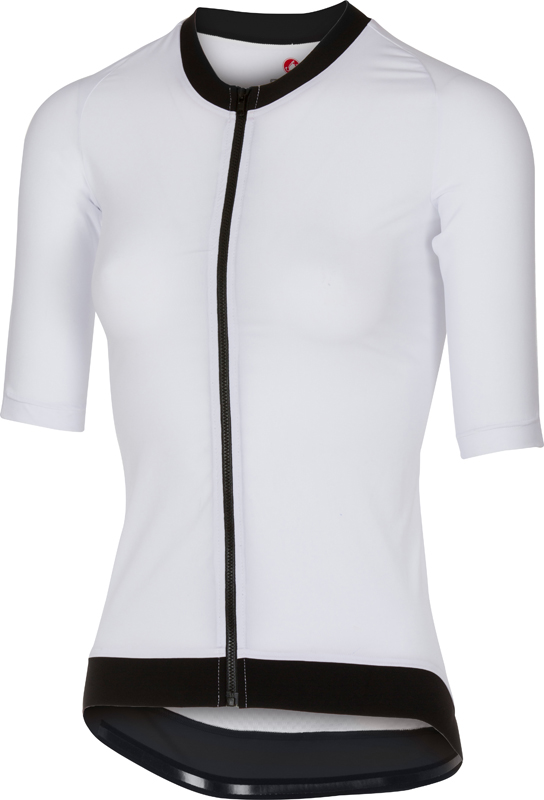 Castelli T1:Stealth top 2 white women  17098-001