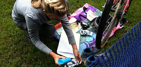 Triathlon accessories