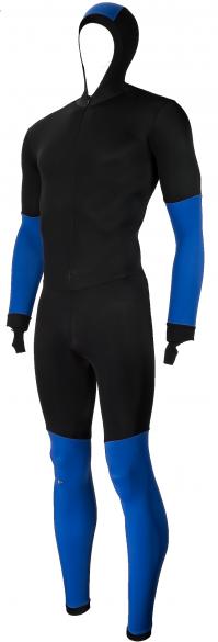 Craft Skate speed suit colorblock black/blue unisex  940156-1935