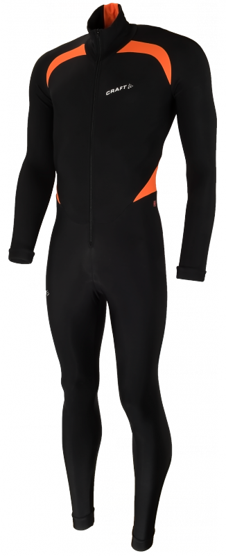 Craft Thermo skatesuit colorblock black/orange unisex  940157-9560