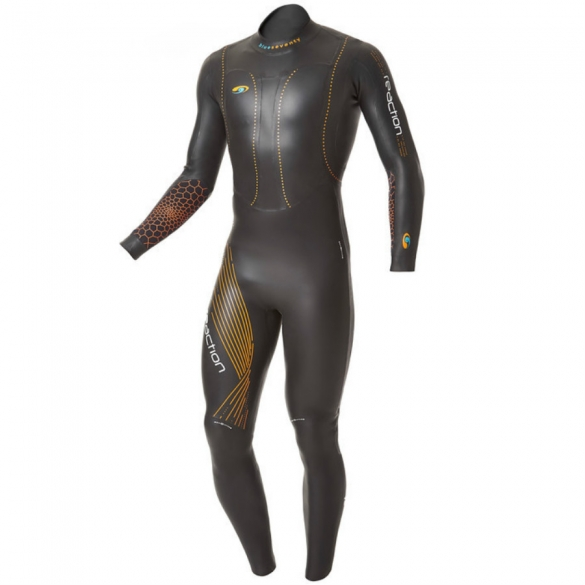 Blueseventy Reaction fullsleeve wetsuit men 2015  WSRFS12BLK00ML