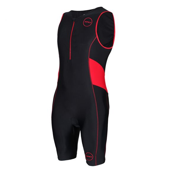 Zone3 Activate trisuit sleeveless black/red men  TS19MACT108