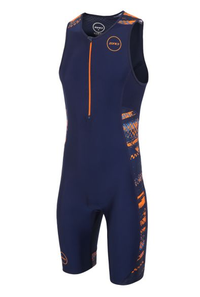 Zone3 Activate plus sleeveless trisuit Track speed men  TS18MACP109