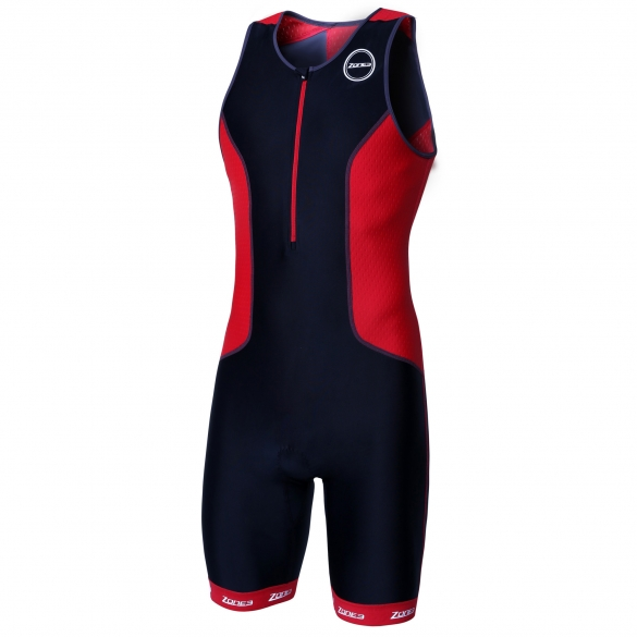 Zone3 Aquaflo plus tri suit black/red men  16173