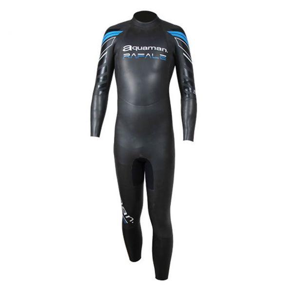 Aquaman Rafale fullsleeve wetsuit black/blue men  ARA19