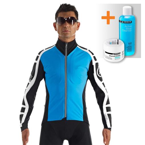 Assos iJ.bonKaCento.6 cycling jacket blue men  113031529