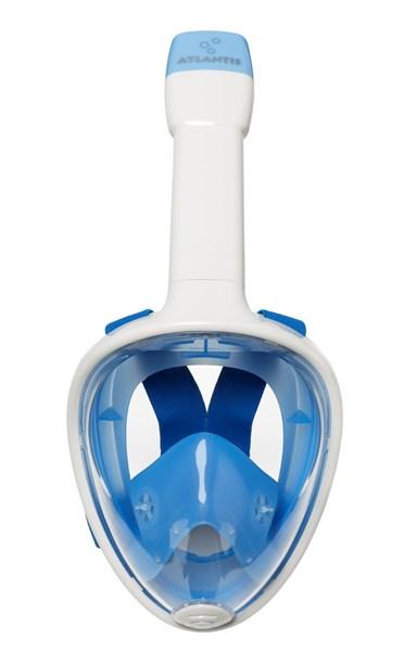 Atlantis Full face snorkel mask white/blue  AT0024