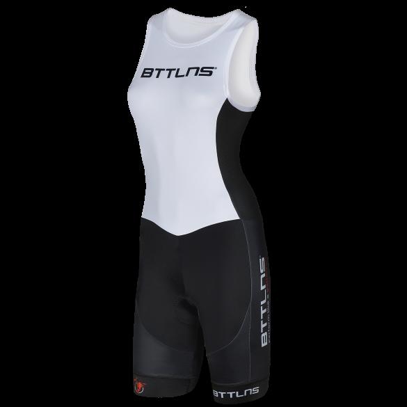 BTTLNS Goddess ITU trisuit sleeveless white Nemesis 1.0  0219007-101