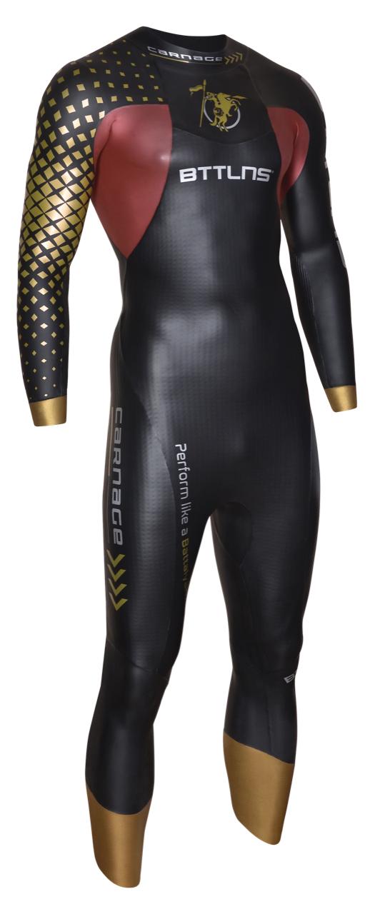 BTTLNS Gods demo wetsuit Carnage 1.0 size MT  0118004-088DEMOMT