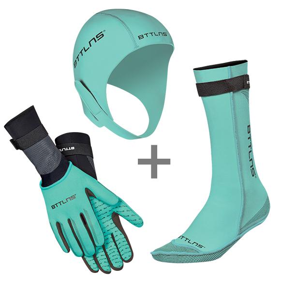 BTTLNS Neoprene accessories bundle mint  0121006+0121007+0121008-036