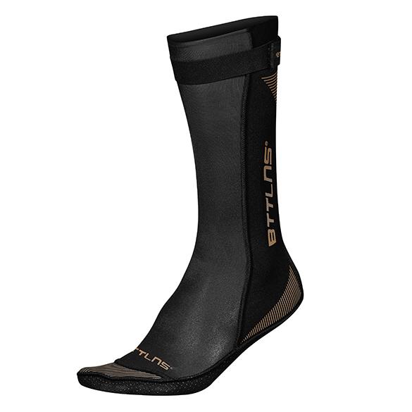 BTTLNS Neoprene swim socks Caerus 1.0 black/gold  0121010-087