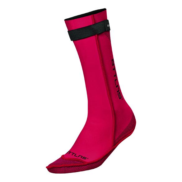 BTTLNS Neoprene swim socks Caerus 1.0 red  0120011-003