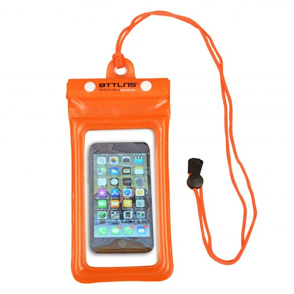 BTTLNS Endymion 1.0 floating waterproof phone pouch orange  0620001-034