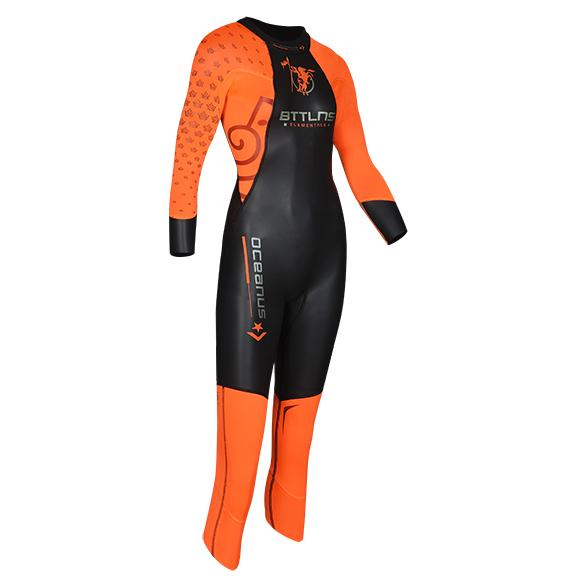 BTTLNS Oceanus 1.0 full sleeve wetsuit kids  0729003-122