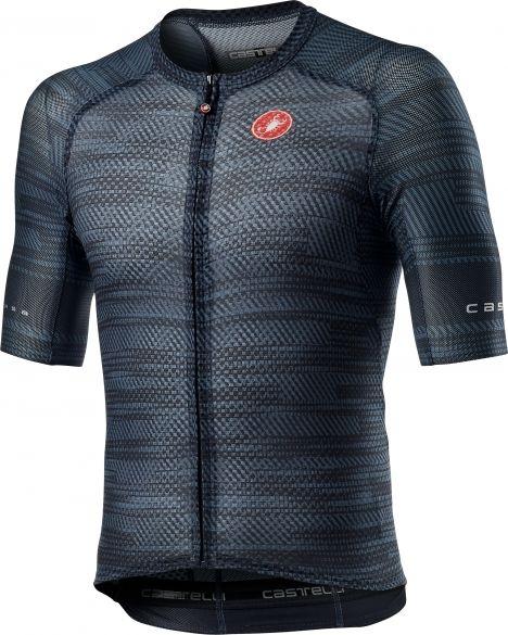 Castelli Climber's 3.0 SL short sleeve jersey dark blue men  21012-070