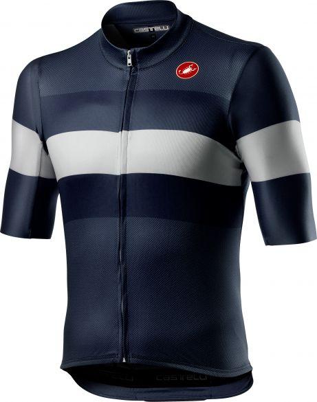 Castelli LaMITICA short sleeve jersey savile blue men  21072-414