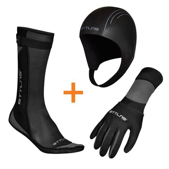 BTTLNS Neoprene accessories bundle  0120011+0120012+012001-010