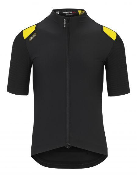 Assos Equipe RS Spring fall Aero cycling jersey black men  112029118