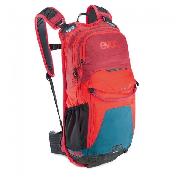 Evoc Stage 12L Backpack Petrol-red-ruby 99565  99565