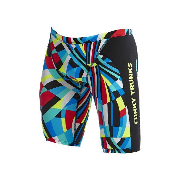 Funky Trunks Block Chain Training Jammers Boys Swimwear