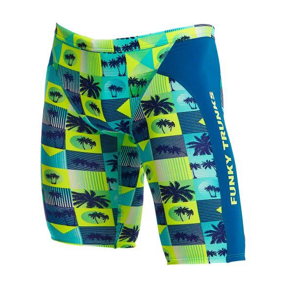 Funky Trunks Pop Tropo Training jammer swimming  FT37M02534