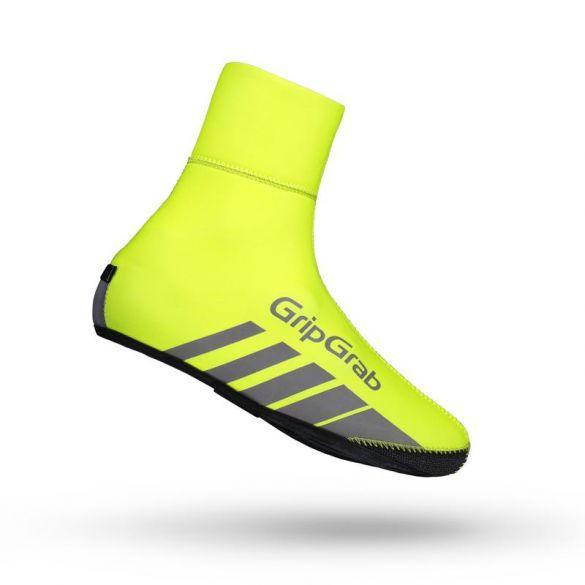 GripGrab Racethermo hi-vis overshoe yellow  2023