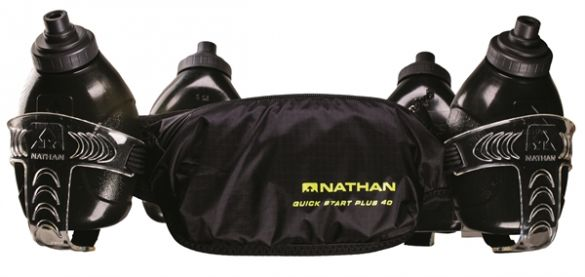 Nathan QuickStart plus 40 hydration belt black  00974944