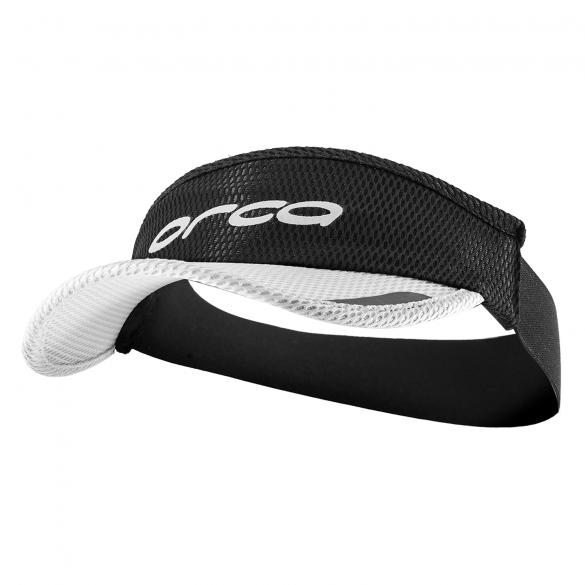 Orca Running visor Flexi-Fit black/white  HVAY00